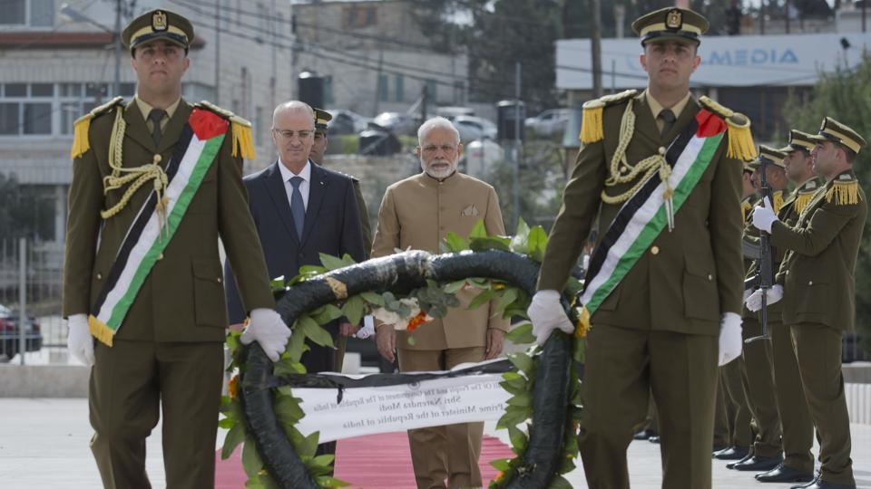 India will take care of Palestinians' interests: PM Modi on historic visit