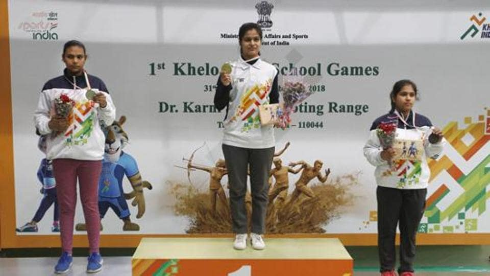 Manu Bhaker won the 10m air pistol event, outclassing the highly-experienced Heena Sidhu at the 61st National Shooting Championship in Thiruvanthapuram