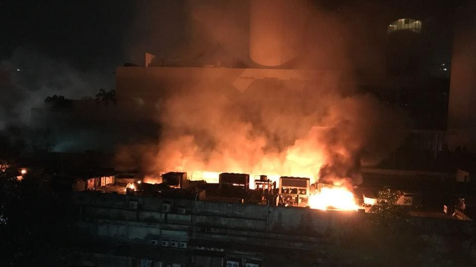 Gopi Verma, 30, a technician working at the studio for the past several years lost his life after a fire broke out at the studio at 8pm on January 6.