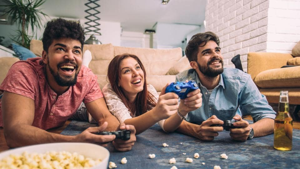 Turns out, playing video games has become a key strategy for coping with stress.