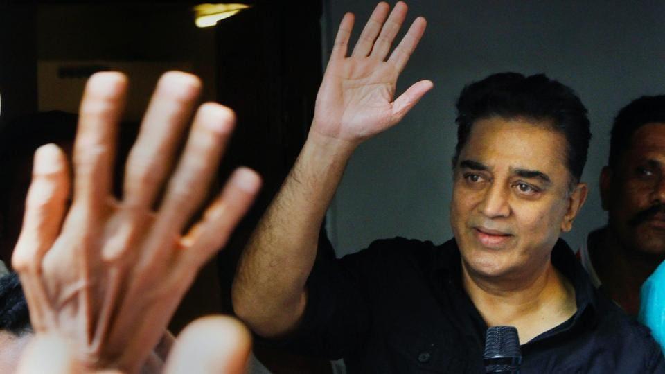 Haasan says 'saffron hue' in Rajini's politics makes tie-up unlikely