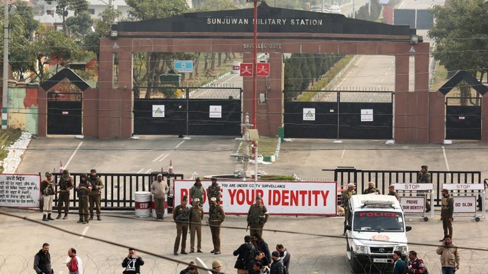 Terror attack,Army camp,Jammu army camp