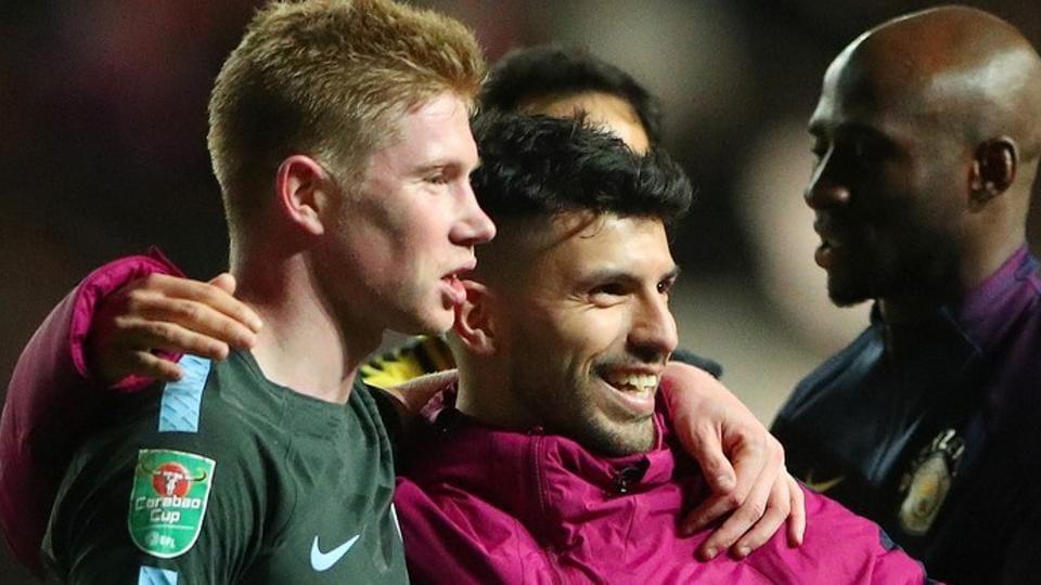 Manchester City,Kevin De Bruyne,Sergio Aguero