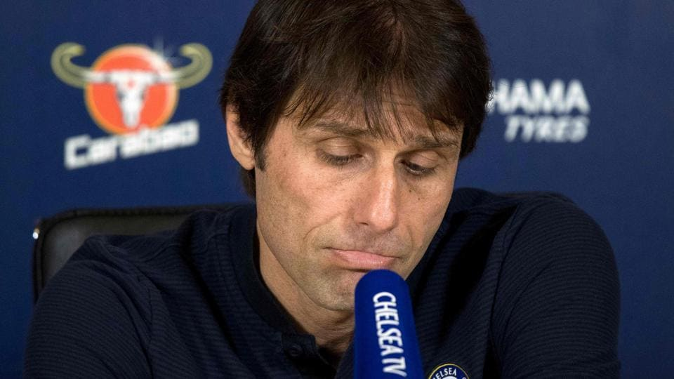 Premier League side Chelsea FC's Italian head coach Antonio Conte.