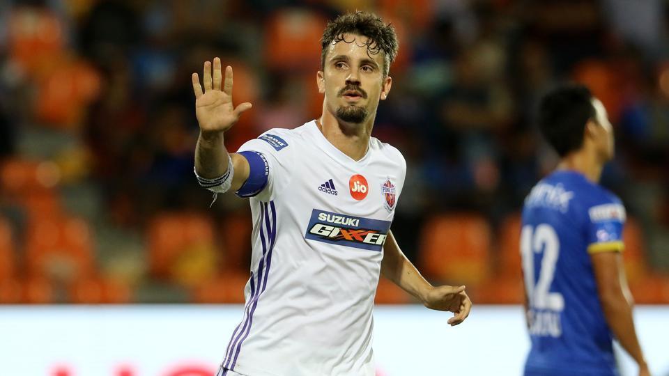Indian Super League,Marcelinho,FC Pune City