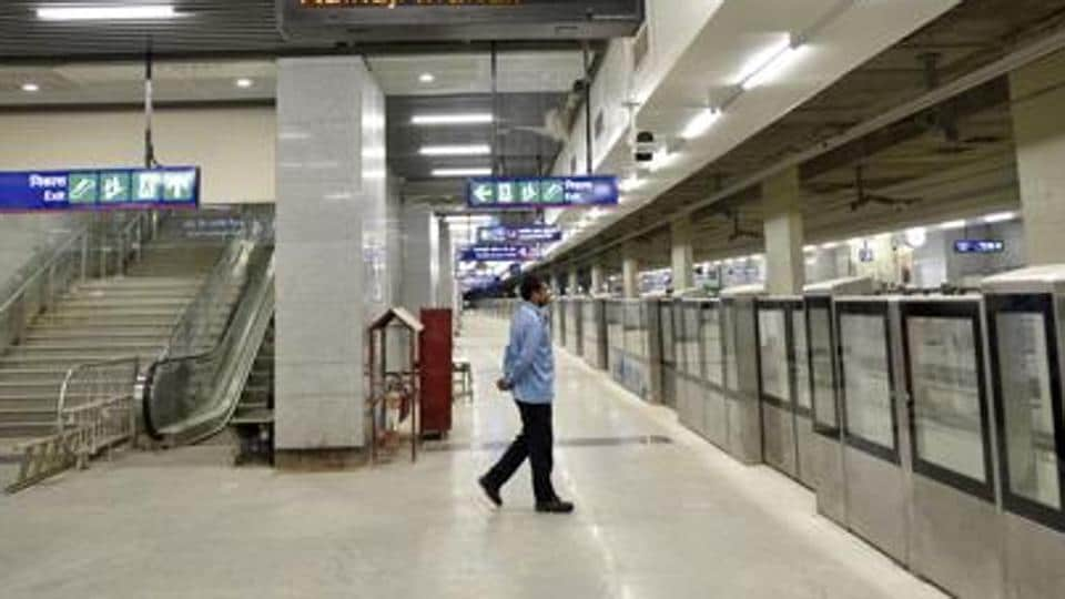 The man jumped in front of the train and sustained injuries, officials said. They added that he was rushed to a nearby hospital by CISF and metro officials, but doctors pronounced him dead.