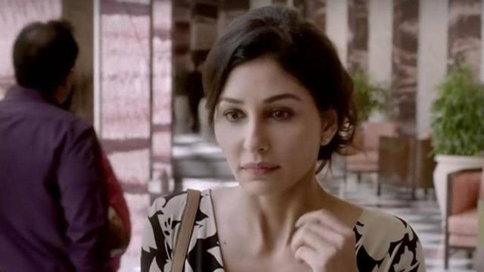 Pooja Chopra in a still from Neeraj Pandey-directed short film, Ouch.(YouTube Grab)