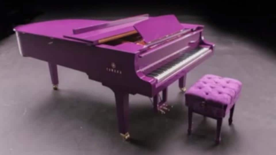 It was a gift specifically for Prince, and was his favourite piano to play because he loved the distinctive ring-like sound it made.