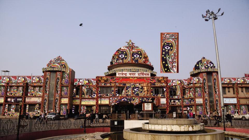 Indian Railways,Madhubani,Mithila art