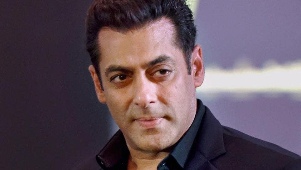 A file photo of Bollywood actor Salman Khan.