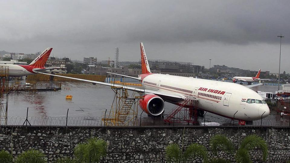 Air India,Air India flight,false fire warning