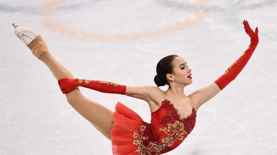 Russia's Alina Zagitova, a 15-year-old figure skater,  executed all elements of her jump-packed free skate with perfection to take first place over second-place finisher Mirai Nagasu