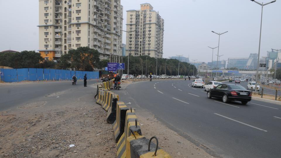 Gurgaon traffic,Gurugram traffic,Cyber City