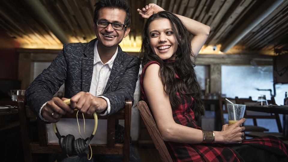 Composer-producer Kartik Shah and vocalist Nirali Kartik of the fusion music band, Maati Baani.
