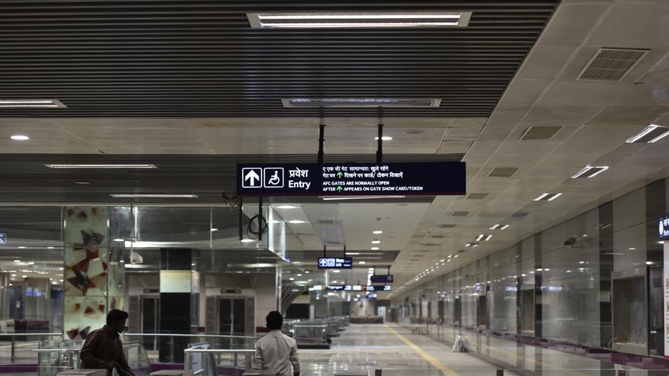 The Terminal 1 of Delhi's Indira Gandhi International Airport (IGIA), which caters domestic carriers IndiGo and SpiceJet, will get a Metro station as part of the 34.2-km Janakpuri West-Botanical Garden corridor of the Magenta Line.