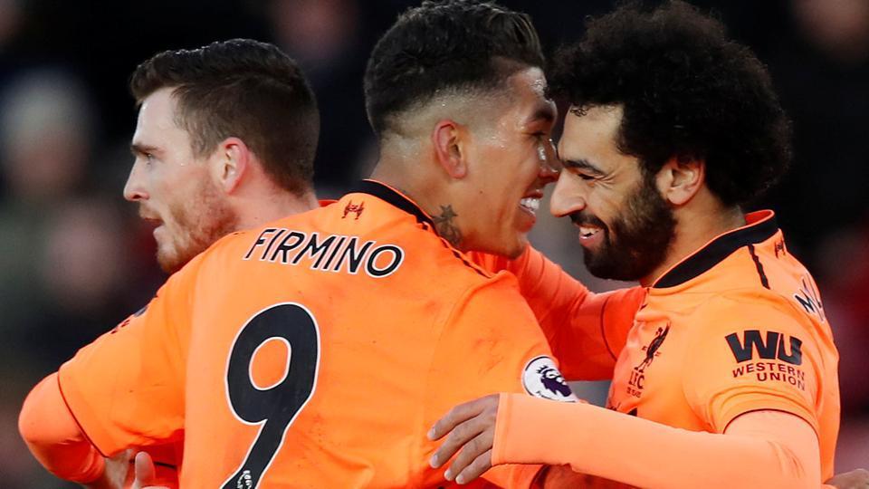 Roberto Firmino,Mohamed Salah,Liverpool