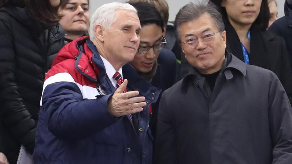 VP Pence makes news at the Olympics