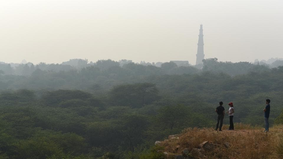 Lutyens' Delhi or New Delhi lost around 0.84 square metres of forests — the maximum green cover lost by any district of Delhi – in the past two years, says the India State of Forest Report 2017.