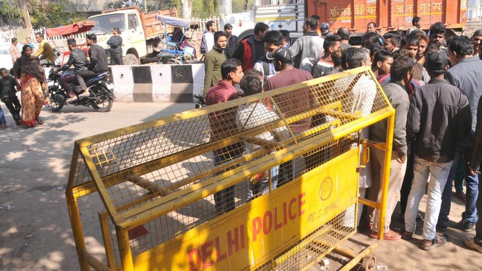 A 21-year-old biker was killed in New Delhi last week after a wire used to tie two police barricades allegedly got entangled around his neck and slit his throat.