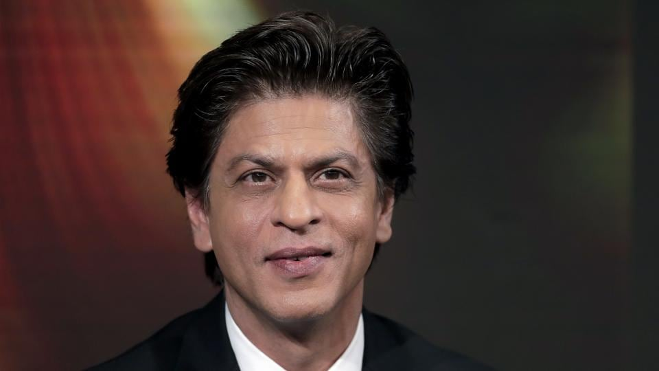 Shah Rukh Khan attends a conversation on creating change in India through women's empowerment, as part of the annual meeting of the World Economic Forum in Davos, Switzerland, Tuesday, Jan. 23, 2018.