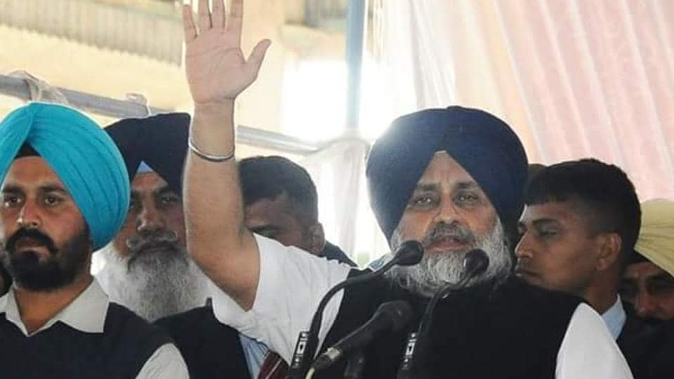Sukhbir Badal,Punjab farmers,SAD poll khol rally
