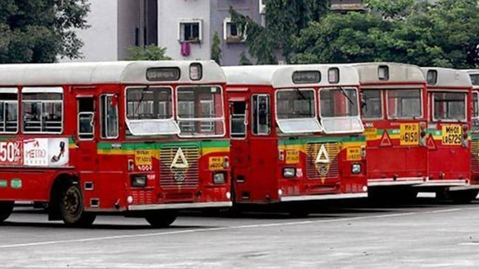 Mumbai bus,BEST,labour union