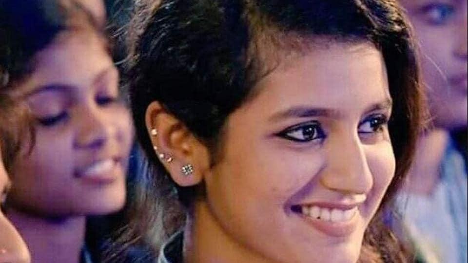 Priya Prakash Varrier is a model-actor from Kerala.