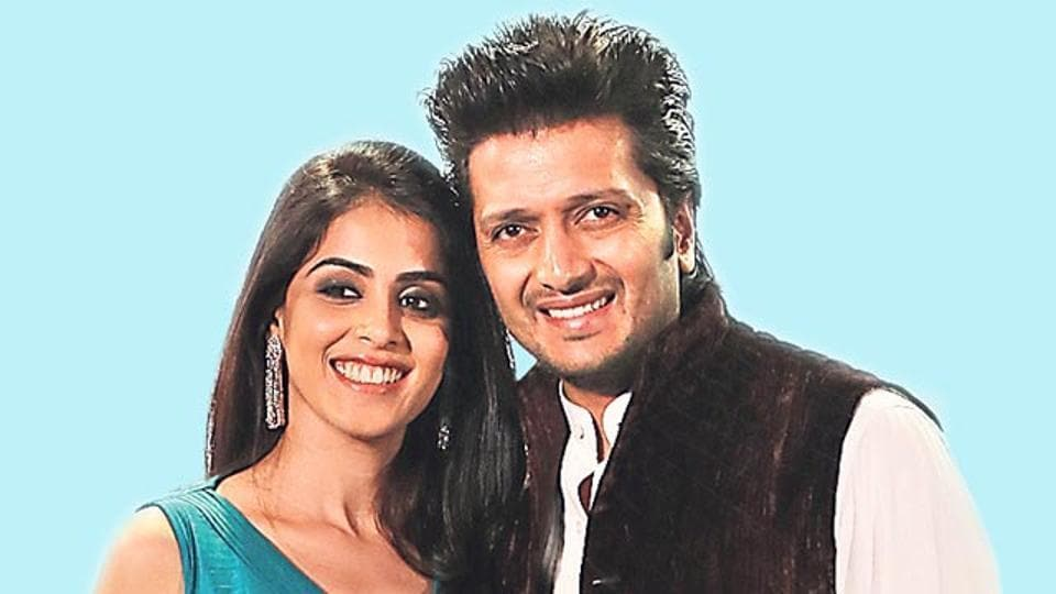 Riteish Deshmukh and Genelia D'Souza married in 2012.