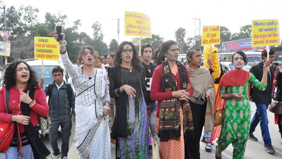 Slogans decrying police inaction in the case and demanding justice for Ajay could be heard in the protest.