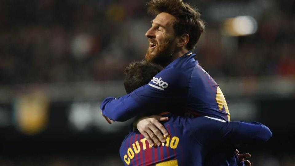 After finally getting his dream switch to FCBarcelona, Philippe Coutinho has a chance to play alongside Lionel Messi every week, with the Argentina star, Luis Suarez and Andres Iniesta making a strong impression on the 25-year-old.