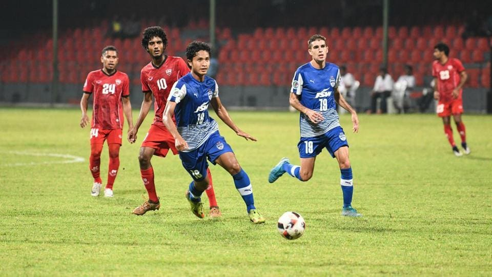 Bengaluru FC defeated TC Sports Club Maldives in the AFC Cup on Tuesday.