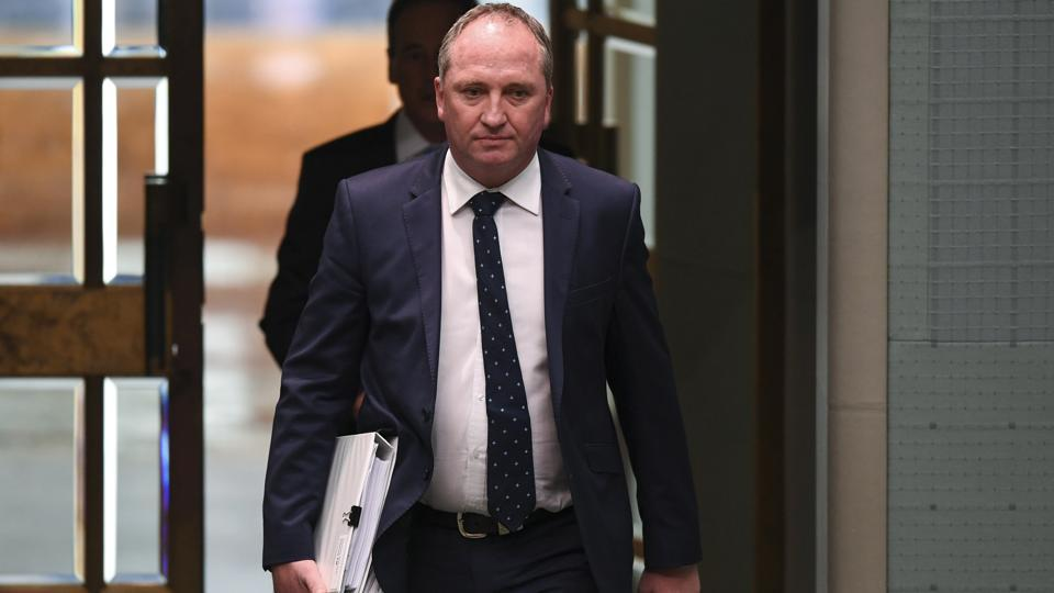 Barnaby Joyce Denies Breaching Ministerial Code Of Conduct With Vikki Campion