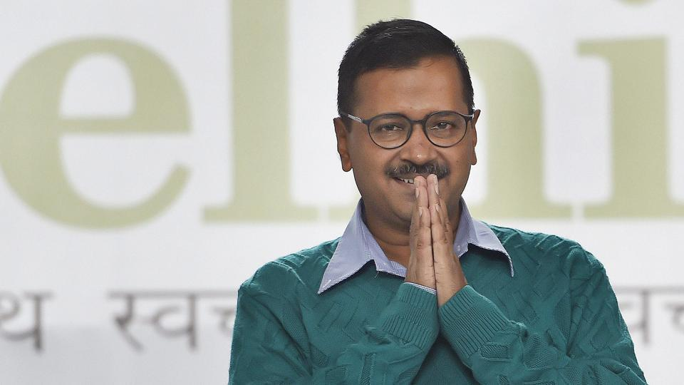 Kejriwal's anniversary ad stuck over 'seen and unseen forces' reference