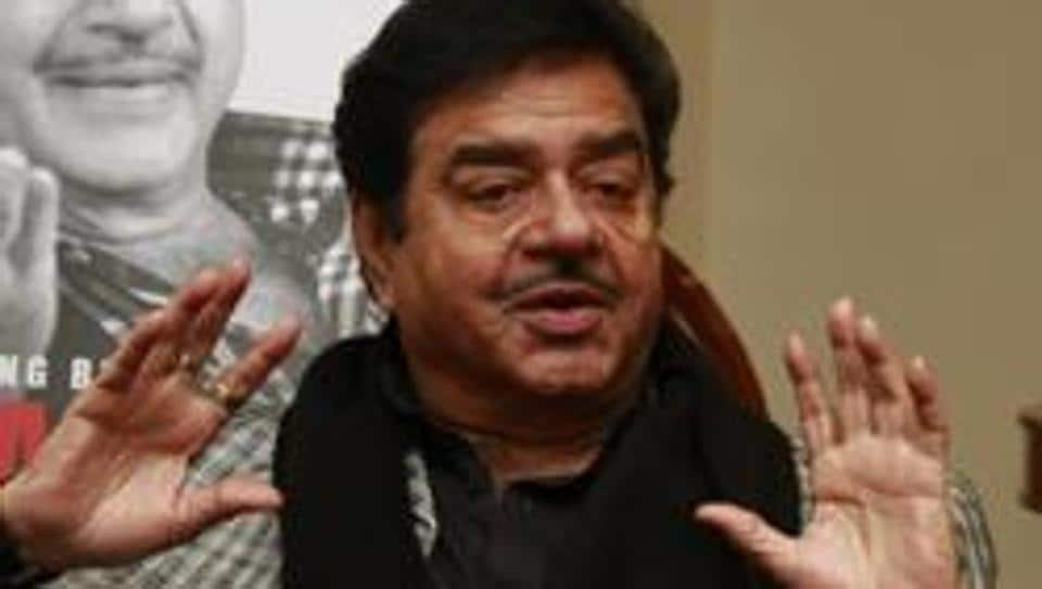 Indian film actor turned politician Shatrughan Sinha during an interview with HTCity.