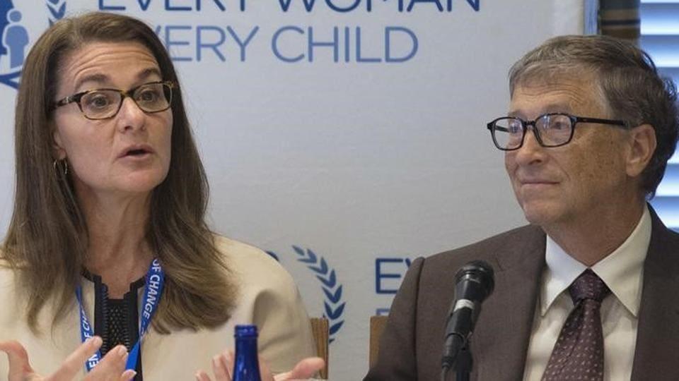 Donald Trump,Melinda Gates,Bill Gates