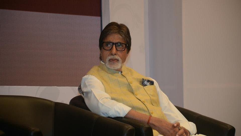 Amitabh Bachchan at a charity programme in Mumbai on Jan 28, 2018.