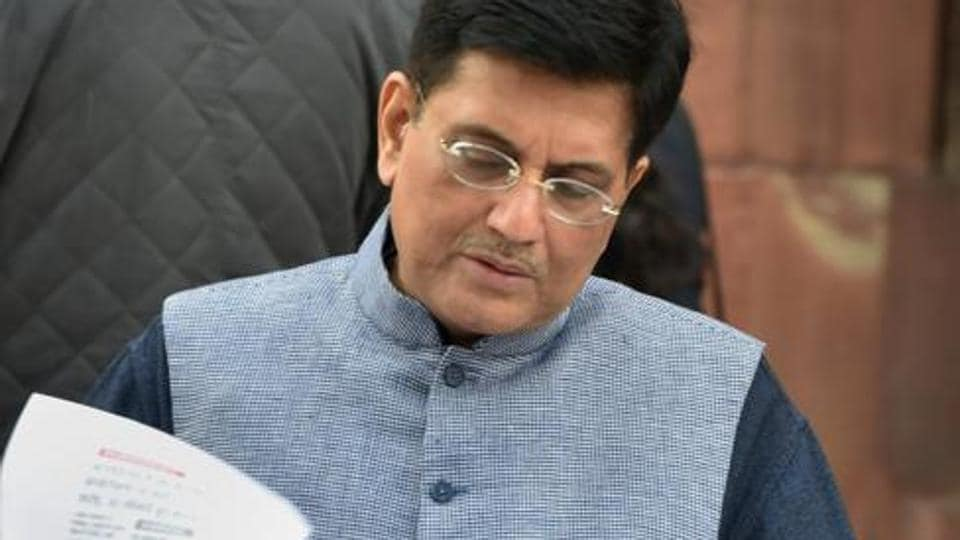 Railway minister Piyush Goyal said in the year to March 31, the railways would have relaid 4,300 km of track and that it will catch up with its backlog for track relaying and maintenance by the end of 2019.
