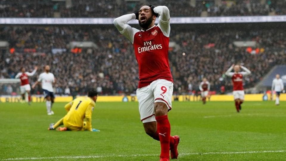 Arsenal's Alexandre Lacazette will miss both legs of their Europa League last-32 tie against Swedish side Ostersunds, as well as the League Cup final against Manchester City later this month.