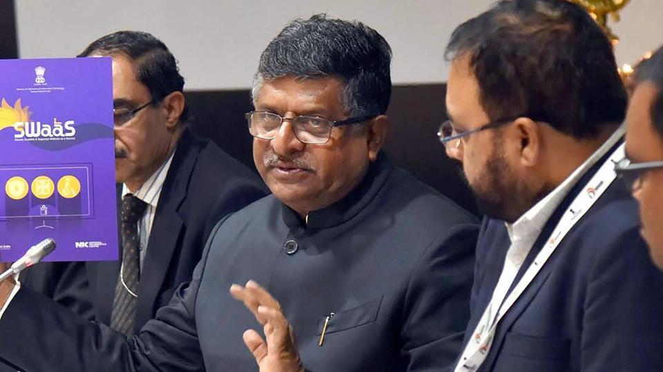 Ravi Shankar Prasad,IT minister,Information Technology