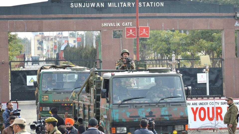 Sunjuwan,Army camp attack,Jaish militants