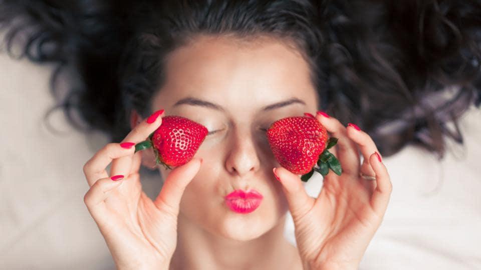 Beauty,Skincare,Strawberry benefits