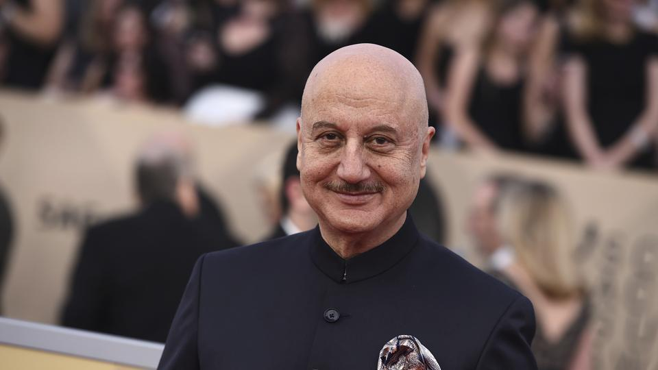 Anupam Kher says he doesn't want to compete with people of his own age.
