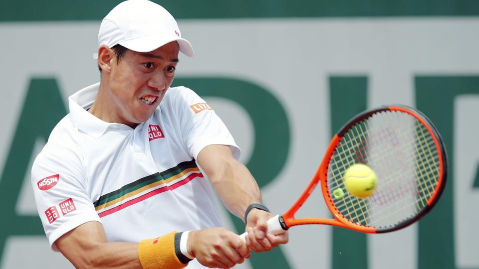 Kei Nishikori defeated Noah Rubin in the New York Open first round match on Tuesday.