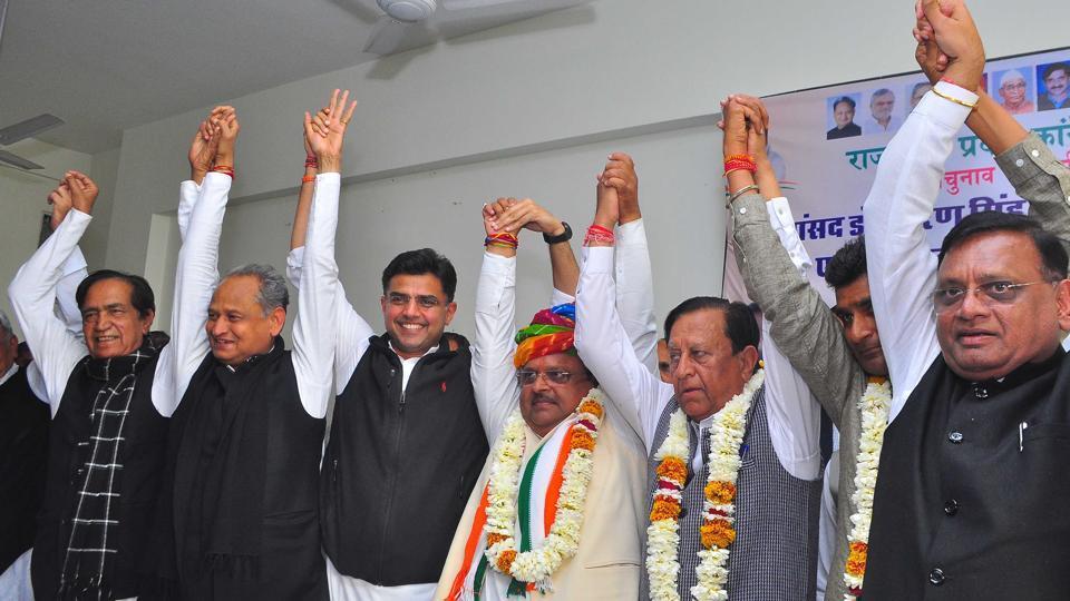 bypoll winners,unity show,Congress