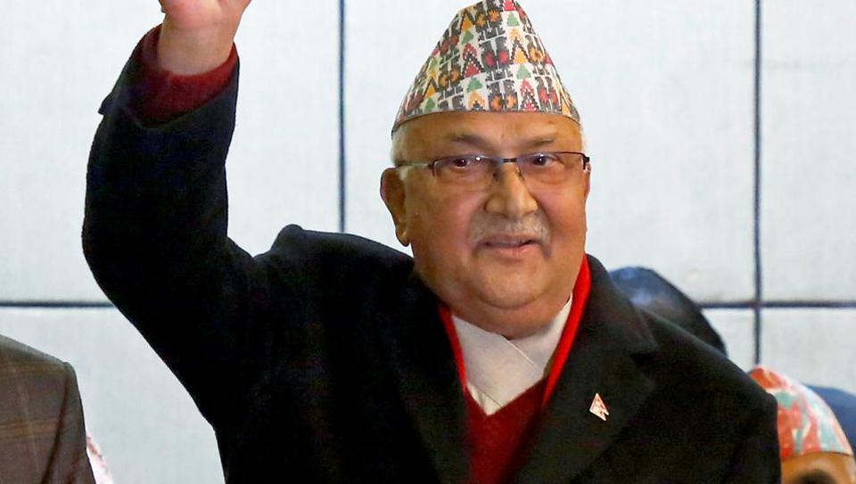 Nepal government formation,KP Sharma Oli,CPN-Maoist Centre