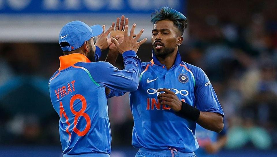 All-rounder Hardik Pandya (R) has been instrumental in India's win over South Africa in the ongoing ODI series.