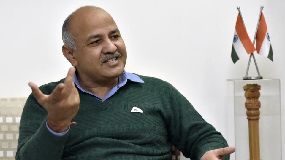 "Deputy chief minister Manish Sisodia says governance is now in ""fourth gear"". ""Our main projects have been streamlined and approvals have been taken... People will see results in next two years,"" Sisodia said last month. Where AAP has shown results in the Mohalla Clinic health scheme and its focus on education, doorstep delivery of various services, installing CCTVs and buying 10,000 DTC buses are its targets ahead. (Sonu Mehta / HT Photo)"