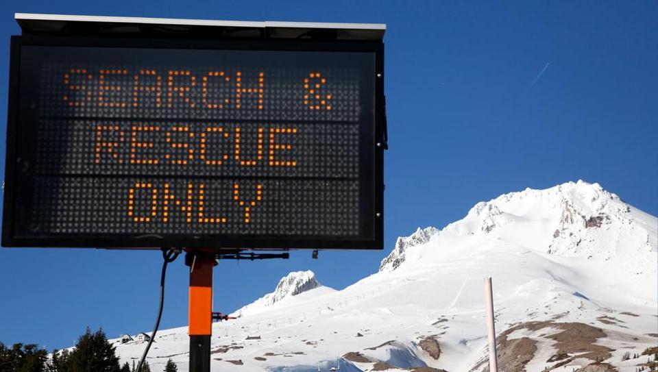 Mount Hood,Oregon,Recue operations