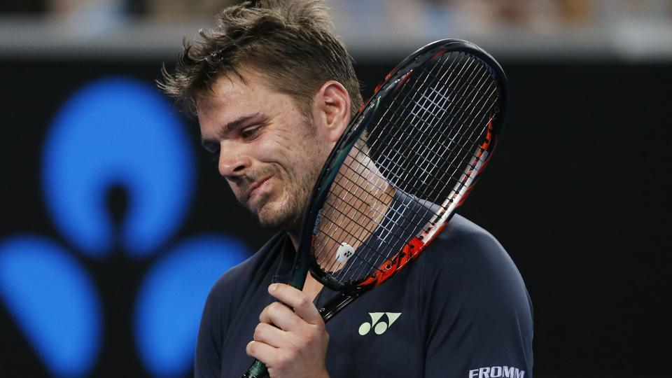 Stan Wawrinka was defeated by Tallon Griekspoor in their Rotterdam Open first round encounter on Wednesday.