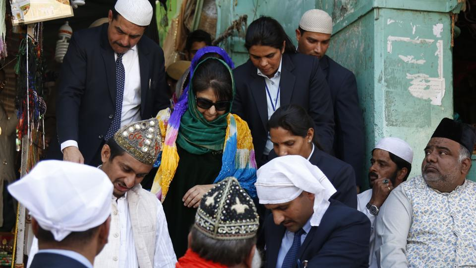 Mehbooba Mufti for peace in Valley at Ajmer | jaipur